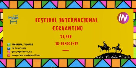 Festival Internacional Cervantino ***IN Experience*** boletos