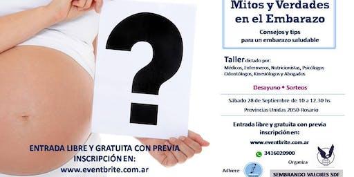 TALLER: MITOS Y VERDADES EN EL EMBARAZO Consejos y tips para el embarazo.