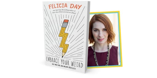 Felicia Day at NCSU's James B. Hunt Jr. Library