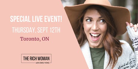 The Rich Woman LIVE Event tickets