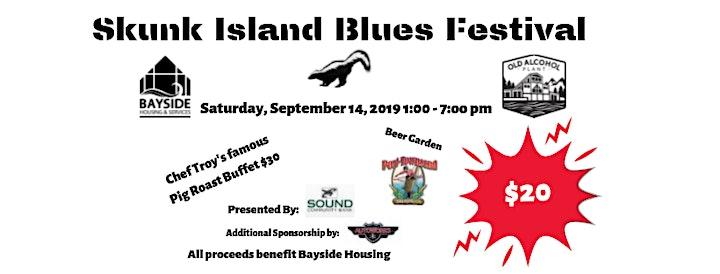 Skunk Island Blues Festival image