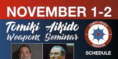Tomiki Aikido Weapons Seminar
