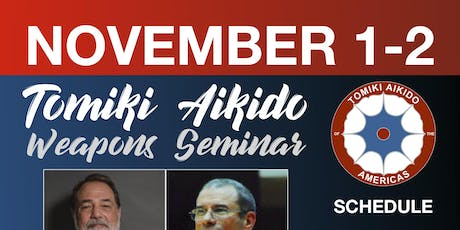 Tomiki Aikido Weapons Seminar tickets