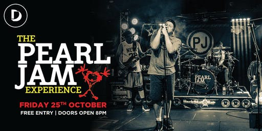 Pearl Jam Tribute Show - Free Entry