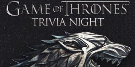 Game of Thrones Trivia at Sylver Spoon