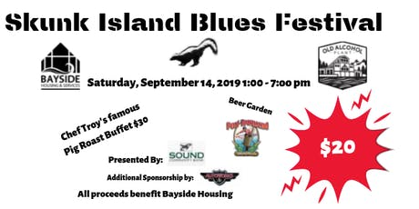 Skunk Island Blues Festival tickets
