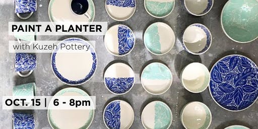 Paint a Planter with Kuzeh Pottery