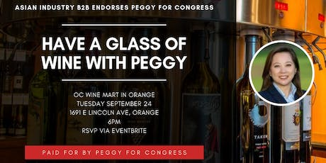 AIB2B Have A Glass Of Wine With Peggy Huang tickets