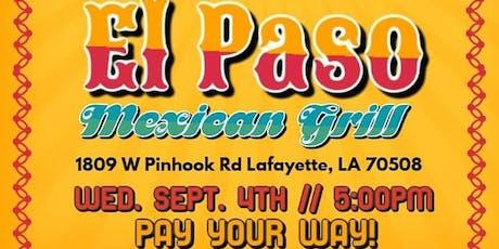 Lagniappe Club Of Lafayette - El Paso tickets