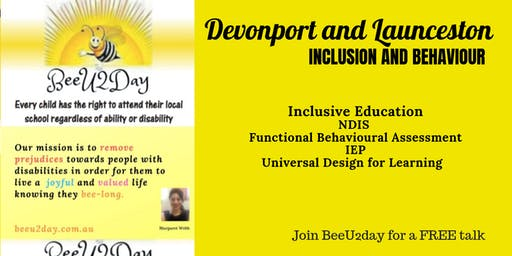BeeInclusive Disability Talk - Devonport