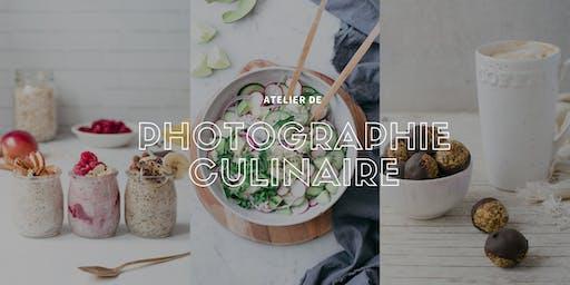 Atelier de photographie culinaire