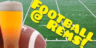 NFL Football @ Rems Lounge!