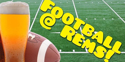 NFL Football @ Rems Lounge!