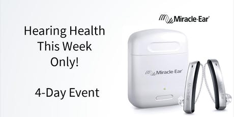 4-Day Hearing Health Event tickets