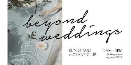 Beyond Weddings tickets