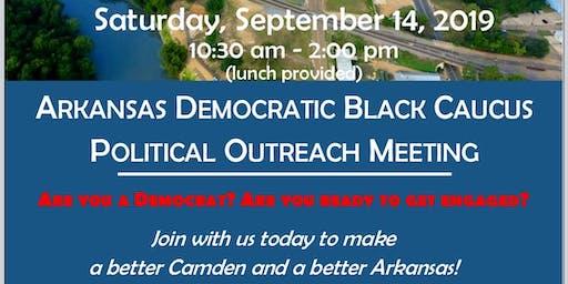 Arkansas Democratic Black Caucus  Political Outreach Meeting