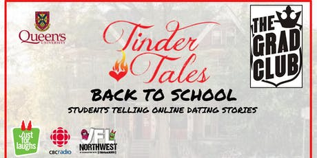 "Tinder Tales ""Back to School"" @ The Grad Club tickets"