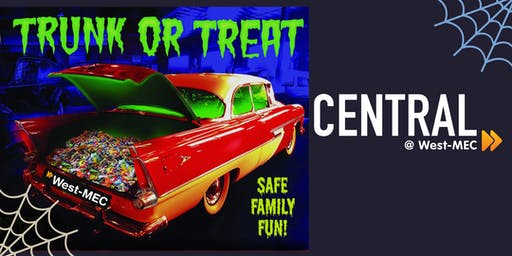 Free Community Event      West-MEC Central Campus Trunk-or-Treat