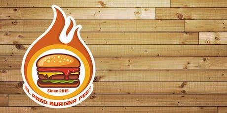 El Paso Burger Fest tickets