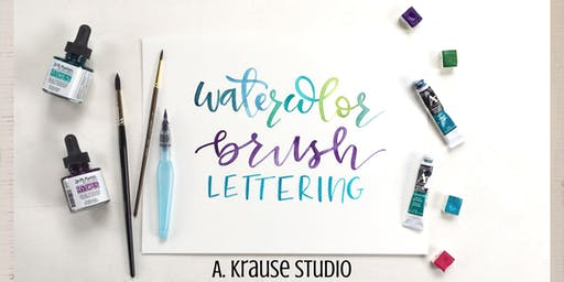 Beginner Level Watercolor Brush Lettering
