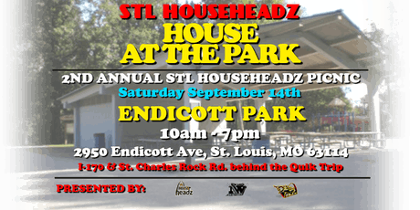 STL HouseHeadz House At The Park 2019  tickets