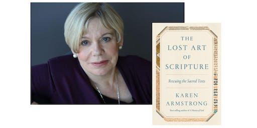 Karen Armstrong at Meredith College's Jones Chapel