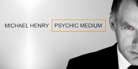 MICHAEL HENRY :Psychic Show - Dublin tickets