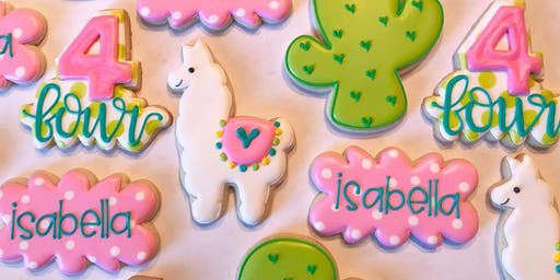 Fiesta Cookie Decorating Class with Wild Flour