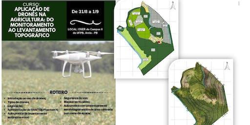 CURSO: APLICAÇÃO DE DRONES NA AGRICULTURA: DO MONITORAMENTO AO LEVANTAMENTO TOPOGRÁFICO