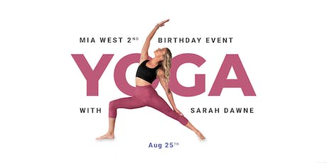 Yoga With Mia West Birthday Event tickets