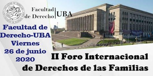 II Foro Internacional de Derechos de las Familias y Sucesiones