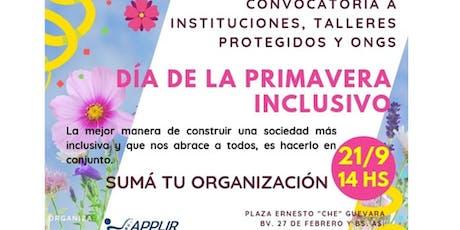 Día de la Primavera Inclusivo entradas