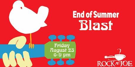 End of Summer Blast tickets