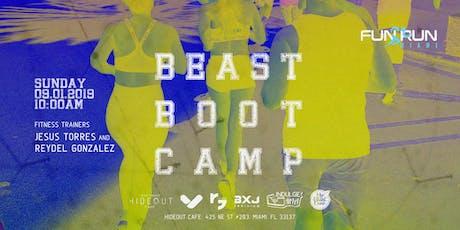 Fun Run Miami - Beast Boot Camp - September 2019 tickets