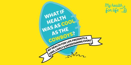 What if health was as cool as the Cowboys? tickets
