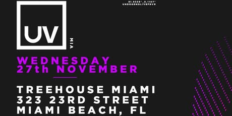 Aly & Fila + Paul Thomas @ Treehouse Miami tickets