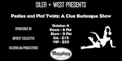 Pasties & Plot Twists: a CLUE burlesque show