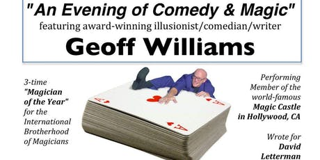 An Evening of Comedy & Magic featuring Geoff Williams tickets