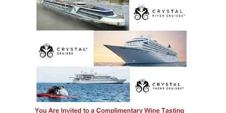 Wine Tasting - Exploring the World of Crystal Cruises, River & Yachts tickets
