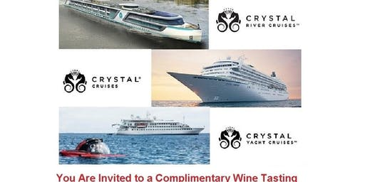 Wine Tasting - Exploring the World of Crystal Cruises, River & Yachts