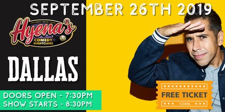 FREE TICKETS! Hyenas Comedy Club - 09/26 - Stand Up Comedy Show tickets