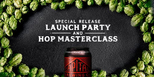 Special Release Launch Party & Hop Masterclass (Sydney) [SOLD OUT]
