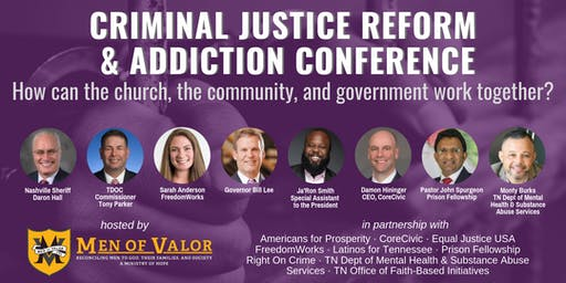 Criminal Justice Reform & Addiction Conference