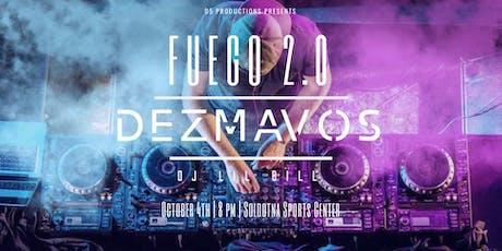Fuego 2.0 tickets