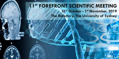 11th ForeFront Scientific meeting tickets