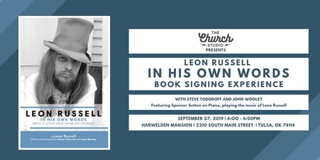 LEON RUSSELL IN HIS OWN WORDS, Book Signing Experience!  tickets