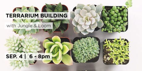 Terrarium Building with Jungle & Loom  tickets