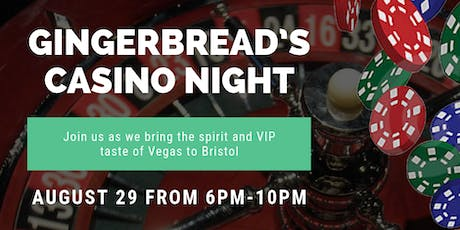 'Blackjack & Ribeyes' casino night out popup dinner in downtown Bristol tickets