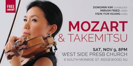 MOZART & TAKEMITSU (NJ) tickets