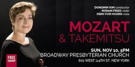 MOZART & TAKEMITSU (NYC) tickets